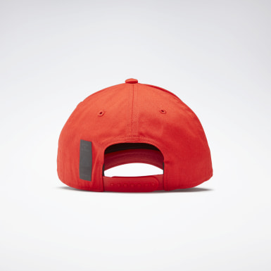 Fitness & Training Red Active Enhanced Baseball Cap