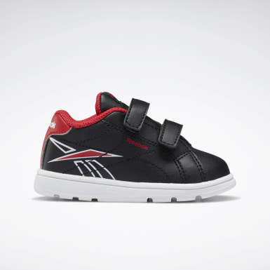 Boys Classics Black Reebok Royal Complete CLN 2 Shoes