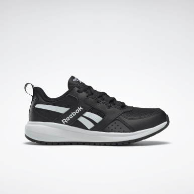 Boys Running Black Reebok Road Supreme 2 Shoes