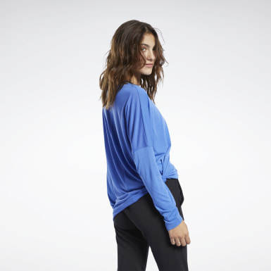 T-shirt Workout Ready Supremium Blu Donna Hiking