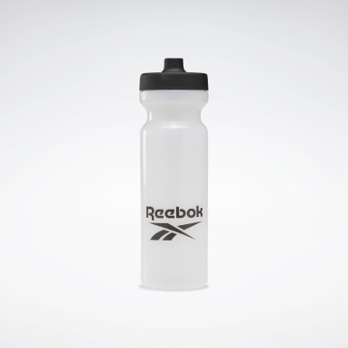 Garrafa de Água Flexível 750 ml Branco Treino Funcional