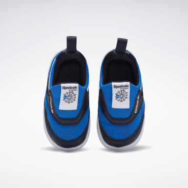 Boys Classics Blue Club C Slip-On III Shoes - Toddler