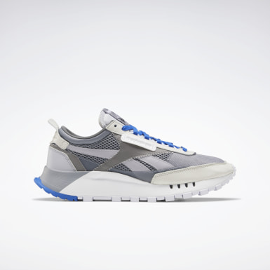 Classics Grey Classic Leather Legacy Shoes