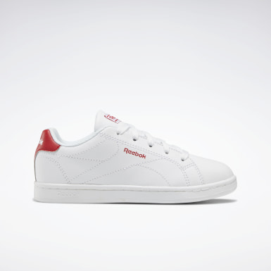 Boys Classics White Reebok Royal Complete Clean 2.0 Shoes