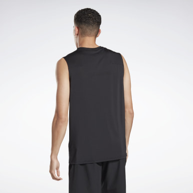 Men Studio Black LES MILLS® SmartVent Tank Top