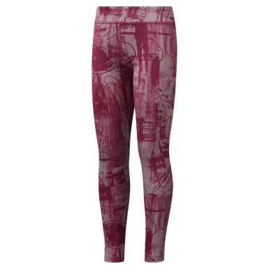 Girls' Reebok Adventure Workout Ready Leggings