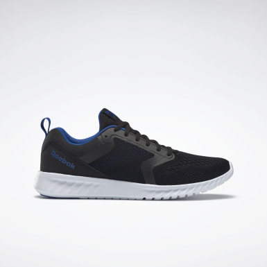 Men Running Black Reebok Sublite Prime Shoes