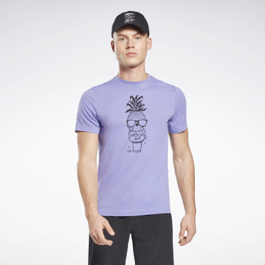 Playera gráfica Chill Pineapple Hombre Fitness & Training