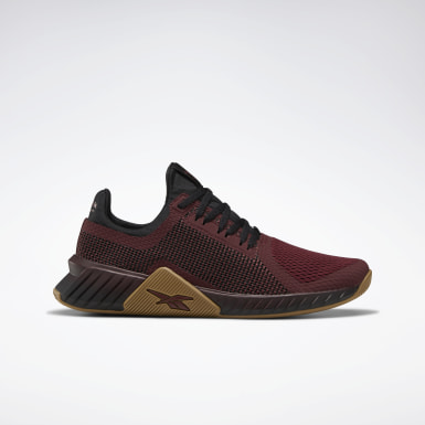 Men Training Burgundy Flashfilm Trainer Men's Training Shoes