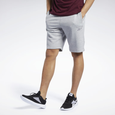 TE Melange Short Gris Hombre Fitness & Training