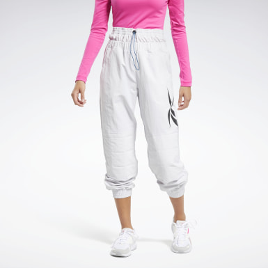 Women Fitness & Training White MYT Joggers
