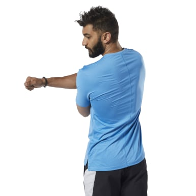 Men Fitness & Training Blue One Series Training ACTIVCHILL Move Tee
