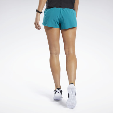 Women Cross Training Reebok CrossFit® Knit Woven Shorts