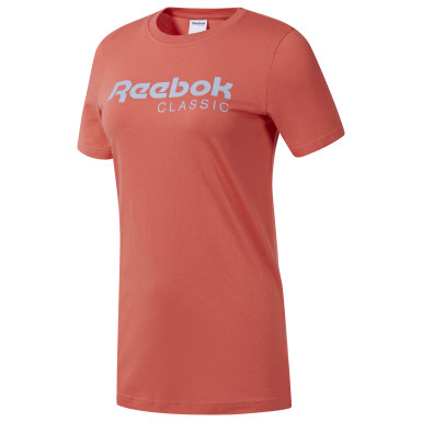 Women Classics Orange Classics Reebok Tee