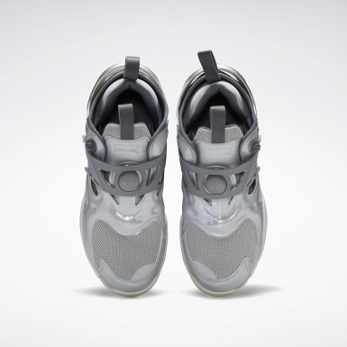 Classics Grey Juun.J Pump Court Shoes