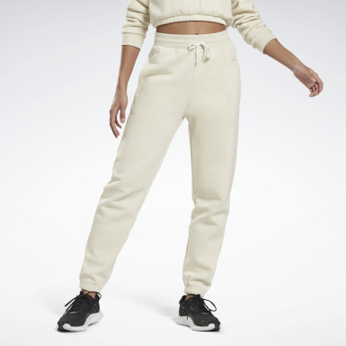 Pantalon Studio Restorative Fleece White Femmes Studio