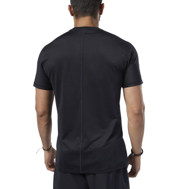 Remera One Series Training SmartVent Move Negro Hombre Fitness & Training