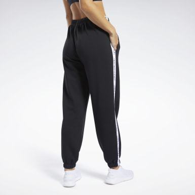Women Pilates Black Meet You There Reebok Jogger Pants