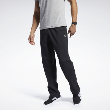 Pantaloni Training Essentials Woven Unlined Nero Uomo Hiking