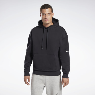 Men Fitness & Training Black DreamBlend Cotton Hoodie