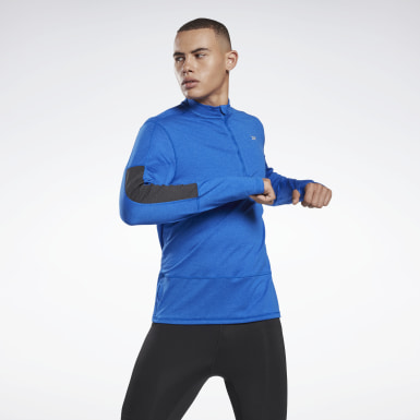 Men Trail Running Running Essentials Quarter Zip