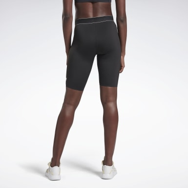 Women Training Black VB Cycling Shorts
