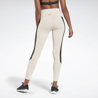 Women Yoga Beige LES MILLS® Tights