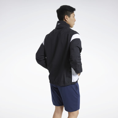Mænd Fitness & Training Black Training Essentials Linear Logo Jacket