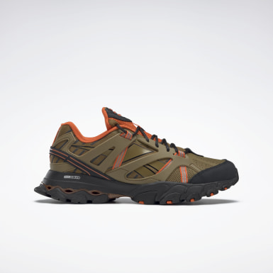 Running Brown Reebok DMX Trail Shadow Shoes