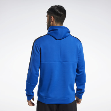 Men Studio Blue Workout Ready Hoodie