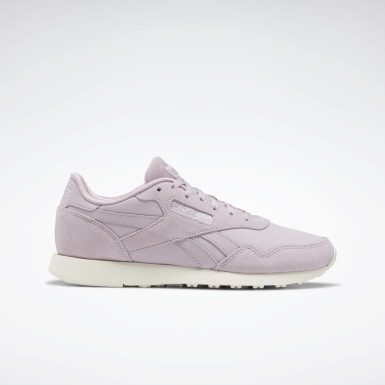 Women Classics Purple Reebok Royal Ultra Shoes