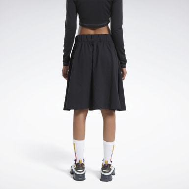 Women Classics Black Reebok by Pyer Moss Vector Skirt