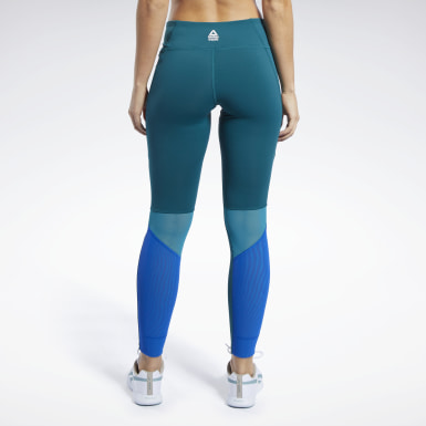 Women Training Reebok CrossFit® Lux Mesh Leggings