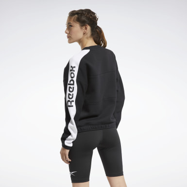 Women Cross Training Black MYT Crew Sweatshirt