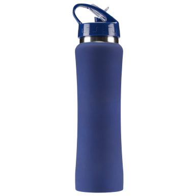 Training Blue Reebok Aluminum Water Bottle