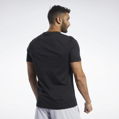 Camiseta Graphic Negro Hombre Fitness & Training