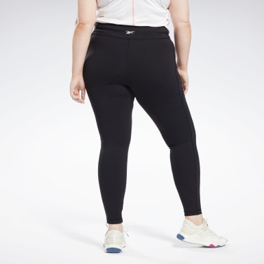 Women HIIT Black Lux Leggings (Plus Size)