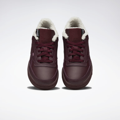 Women Classics Burgundy Club C Revenge Women's Shoes