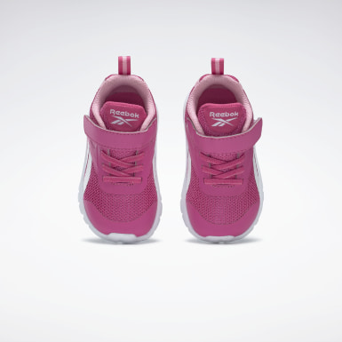 Kids Running Pink Reebok Rush Runner 3 Alt Shoes