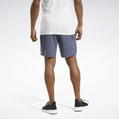 Short sans coutures MyoKnit United by Fitness Bleu Hommes HIIT