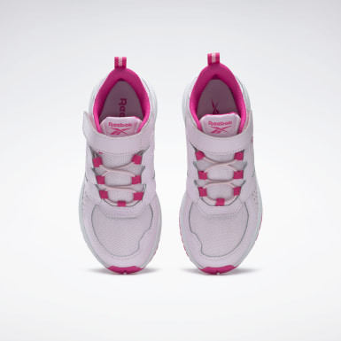 Kids Running Pink Reebok Road Supreme 2 Alt Shoes - Preschool