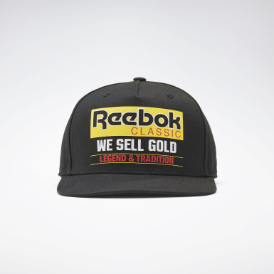Classics Black Classics Graphic We Sell Gold Hat