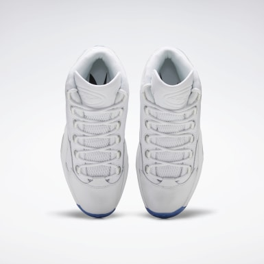 Classics White Question Mid Men's Basketball Shoes