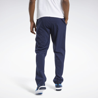 Männer Wandern Training Essentials Woven Unlined Pants Blau