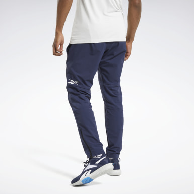 Pantaloni United by Fitness Woven Blu Uomo HIIT