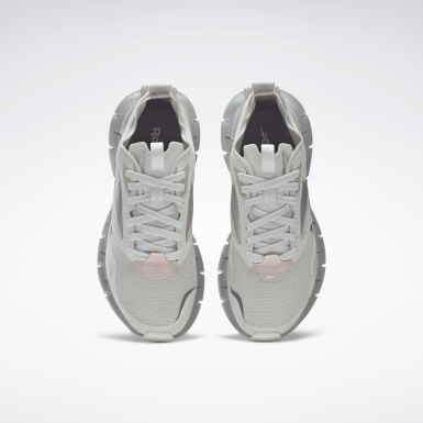 Women Classics Grey Zig Kinetica Horizon Shoes