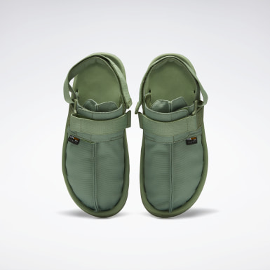 Classics Green Beatnik Sandals