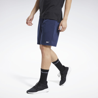 Short Training Essentials Blue Hommes Entraînement