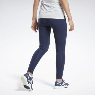 Women Yoga Blue Reebok Lux Tights 2.0