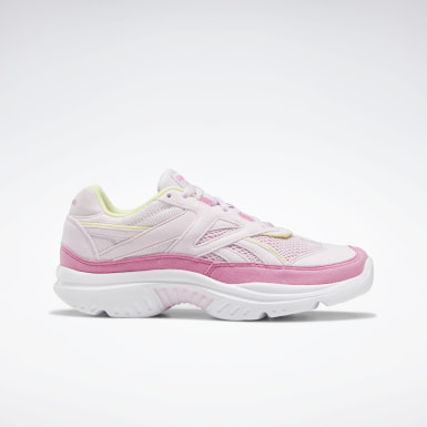 Women Classics Pink Reebok Royal Lumella Shoes